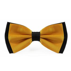 golden_yellow_layered_two_tone_bow_tie_rack_australia