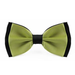 lime_green_layered_two_tone_bow_tie