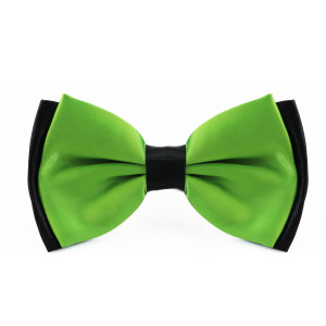 lime_green_layered_two_tone_bow_tie_rack_australia